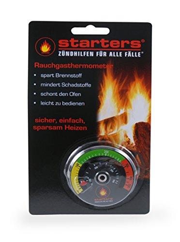 STARTERS Rauchgasthermometer, Abgasthermometer für den Ofen von starters®