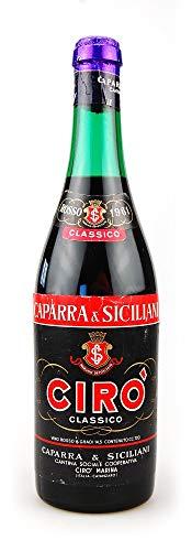 Wein 1961 Ciro Rosso Classico Caparra