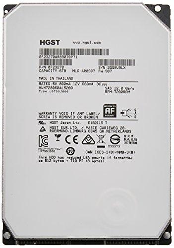 HGST Ultrastar He8 6TB Serial ATA III Interne Festplatte -Interne Festplatten (6TB, Serial ATA III, 7200 RPM, 3.5