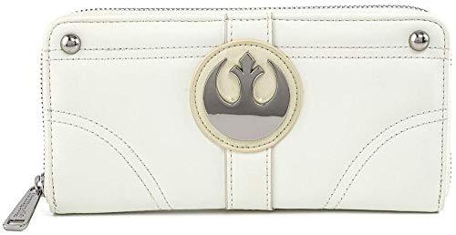 Loungefly Star Wars Prinzessin Leia Hoth Cosplay Geldbörse mit Reißverschluss