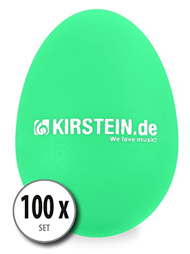 100x Kirstein ES-10G Egg Shaker verde Medium-Heavy Set