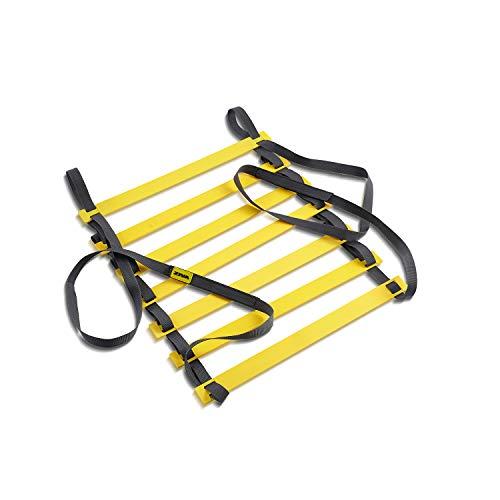 Escada de Agilidade 40 cm Funcional Amarelo Ziva