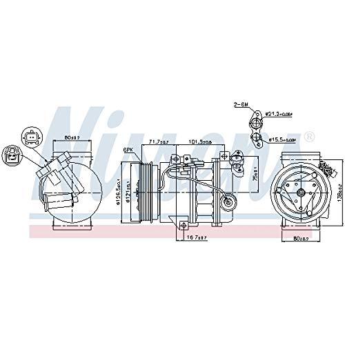 Nissens 89386 Clima compressori