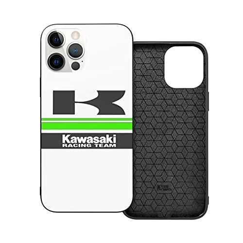 Jinfugongmao Compatibile con iPhone 12/11 PRO Max 12 Mini SE X/XS Max XR 8 7 6 6s Plus Custodie Kawasaki Team Nero Custodie per Telefoni Cover