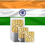 travSIM - Tarjeta SIM Prepaga India (SIM de Datos para India) - 7GB de Datos Móviles para Usar en India Válido por 30 Días - la Tarjeta SIM de Datos India Funciona en Más de 50 Países