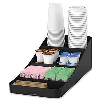 Mind Reader Trove Coffee Condiment Organizer One Size Black