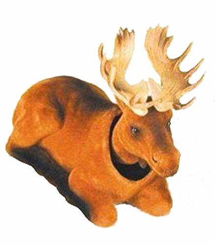 Light Brown Bobble Moving Head Wild Moose