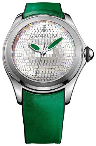 Bubble original Herren Uhr analog Quarzwerk mit Leder Armband 082.310.20.0067.DB01