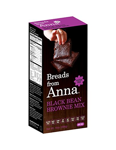 Breads from Anna, Gluten-Free Mix, Black Bean Brownie, 14 oz Package