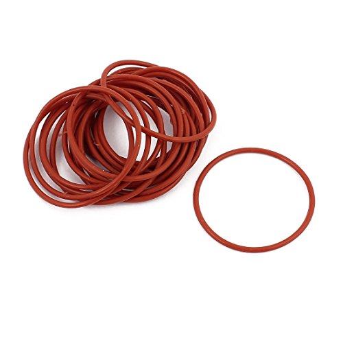 Aexit 15Pcs Rot 32mm x 1.5mm Hitzebeständigkeit Nicht ölbeständig NBR Nitrilkautschuk O-Ring Dichtring (55dc70fe8c3f07c9c6b6d534fec40845)