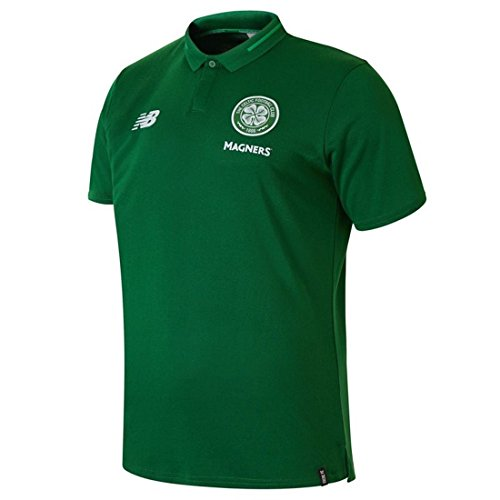 New Balance Celtic FC Junior Leisure Elite Polo 2018/19