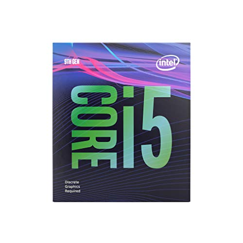Intel BX80684I59400F Procesador Core i5 9th Gen, 2.9GHz 9Mb Cache 6-Core/6-Thread Socket LGA1151 Sin Gráficos