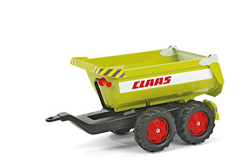 Best Bargain Rolly Giant Half-Pipe Claas Twin Axle Trailer