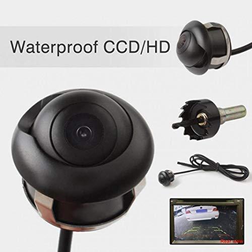 YSHtanj Rückfahrkamera fürs Auto, Video-Player und Zubehör, Video-Player, 360 Grad wasserdicht, HD, Rückfahrkamera