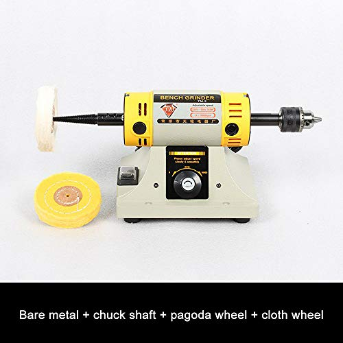 Tischdrehmaschinen Poliermaschinen Polierpuffer Mehrzweckpoliermaschine für Tischdrehmaschinen Poliermotor