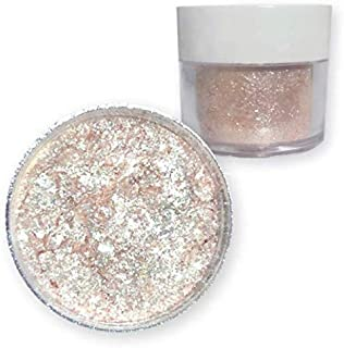 Bulk Size | Soft Rose Gold Tinker Dust Edible Glitter 25g Jar | Bakell Food Grade Gourmet Garnish Glitters