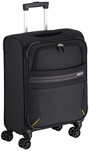 American Tourister Summer Voyager Spinner Equipaje de Mano, 55 cm, 36 Litros, Color Negro
