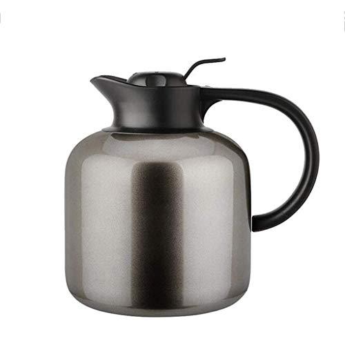 JJZXT Tetera de Acero Inoxidable Pulido con Hojas Sueltas y bolsitas de té, Apta for lavavajillas y Resistente al Calor (Color : B)