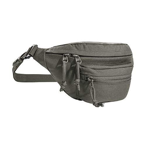 Tasmanian Tiger TT Modular Hip Bag Taktische Hüfttasche Molle kompatibel als EDC Tasche mit 3 Fächern (Steingrau-Oliv IRR)