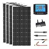 Solar Panel kit Flexible Module 18V 600w 12V or 24v photovoltaic for Motorhome Battery Home Charger