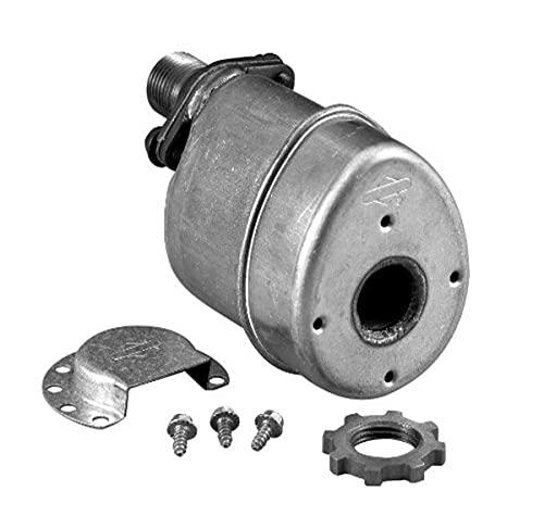 Briggs & Stratton 493288 Lo-Tone Schalldämpfer für 2-4 PS (11 CID) Horizontale Motoren mit einem 1/2 Zoll NPT