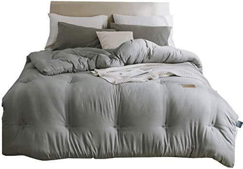 Casas de Almohadas engrosadas y calentadas de Cuatro Estaciones de Colcha de algodón Universal Set de 4 Piezas Soft Duvet Set Resistente a Fading/Microfibra Durbet Set Pillowcases Conjuntos