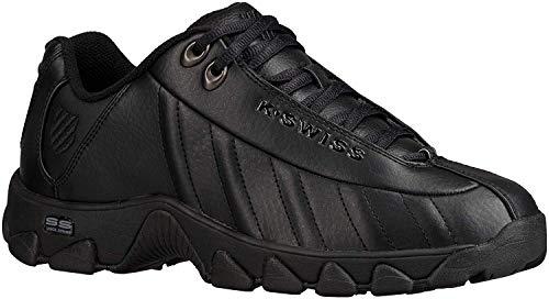 K-Swiss Men's ST329 CMF Training Shoe, Black, 7 M US