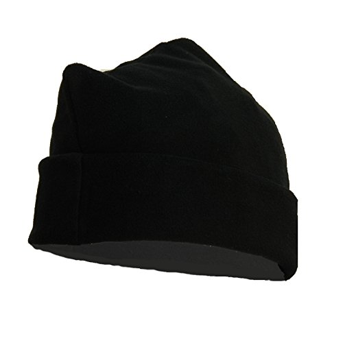 OUTLET MILITARY Cappello 3 Punti in Pile Antipilling Nero