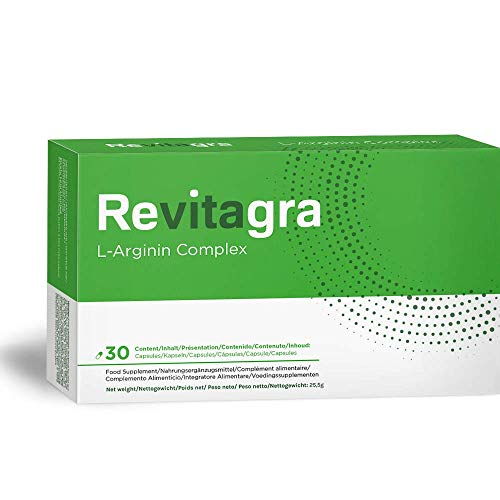 Revitagra  | Strong Formula for Men | Fast Acting Ginseng Complex | 30 Vegetable Pills