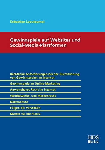 Gewinnspiele auf Websites und Social-Media-Plattformen