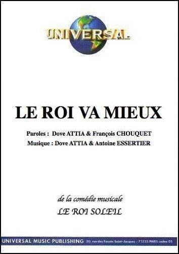 LE ROI VA MIEUX (partition)