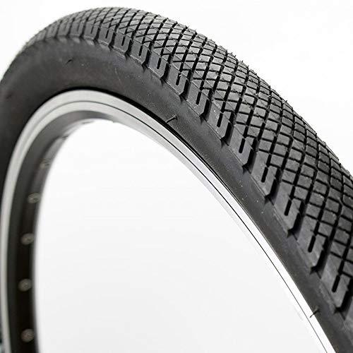 LXRZLS Neumáticos BTT neumático de la Bicicleta 26 26 * 26 * 1.75 2.0 Country Rock Bicicleta de montaña 27.5 * 1.75 Neumáticos Ciclismo Slicks Pneu Partes Negras (Color : 26 1.75)