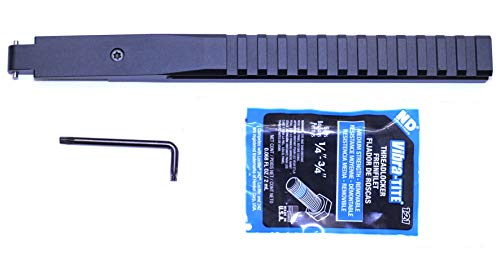 BadAce Low Profile NDT Picatinny Rail for Mosin Nagant M9130 Hex Receiver