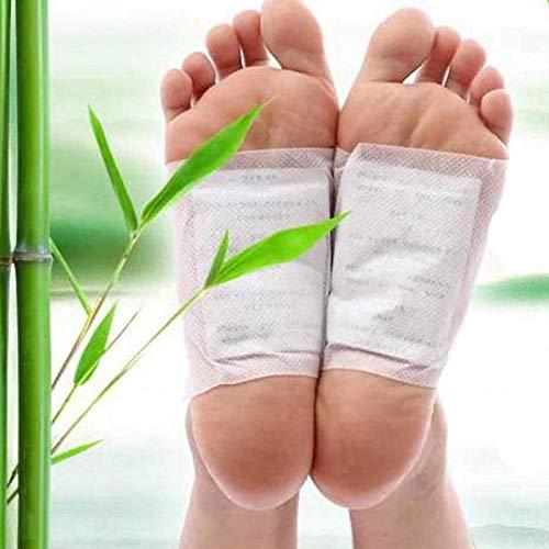 TQ Health And Beauty - Detox Fußpflaster – Entgiftend, 100% natürliche Fußpflaster, Entfernt Körpergifte, Gewichtsverlust, Schlafhilfe, Stressabbau, Stoffwechselverstärkung, Schmerzlinderung