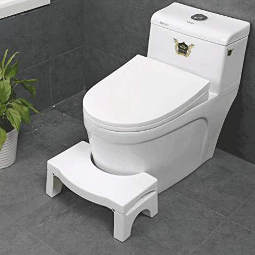 ACHICOO - Taburete plegable de plástico para baño
