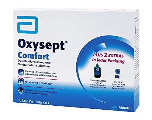 Oxysept Comfort 90 Tage Premium Pack Kombipackung, 1 P - 3
