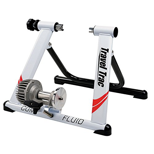 Travel Trac Comp Fluid Trainer White