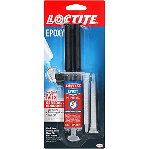 Loctite Epoxy Five Minute Instant Mix 0.47-Fluid Ounce Syringe (1365868)