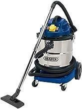 Draper 75443 50 升 1500 W 110 V 湿干燥真空吸尘器不锈钢箱和 110 V 电源工具插座