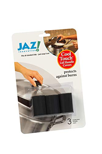 JAZ Innovations 2013 Touch Abdeckungen für Topfgriffe oder -deckel, Schwarz