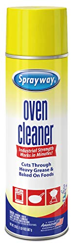 Sprayway Heavy-DutyOven & Grill Cleaner,Removes Oil & Grease, 20 Oz, 1.25 Pound (Pack of 1), 20 Fl Oz