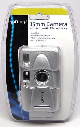 GFM 35mm Camera with Automatic Film Advance Auto built-in Flash