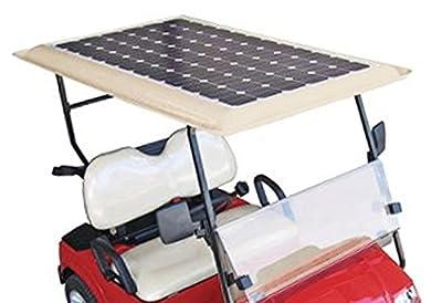 Tektrum Universal 36v Solar Panel Battery Charger Kit for Golf Cart