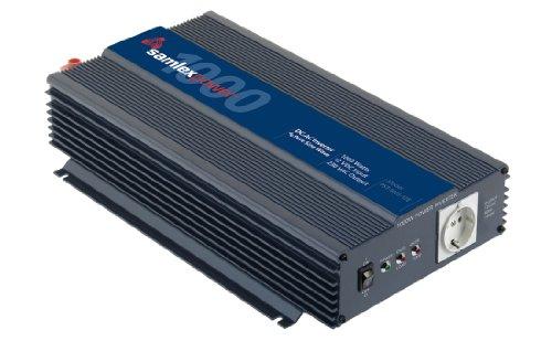 Samlex PST-100S-12E PTS Series Pure Sine Wave DC-AC Power Inverter, 1000W Continuous Power Output, 2000W Surge Power Output, 230VAC Output Voltage, Low battery voltage alarm