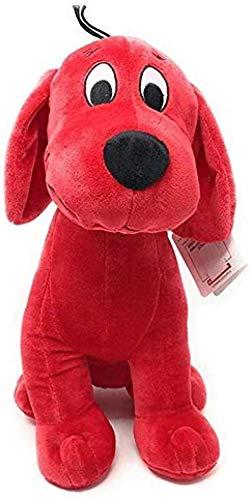 LINQ Cliifford Der große Hund ausgestopfte Spielzeugpuppe Plüschtier-Spielzeug-Geburtstag für Kinder 32cm Qianmianyuan