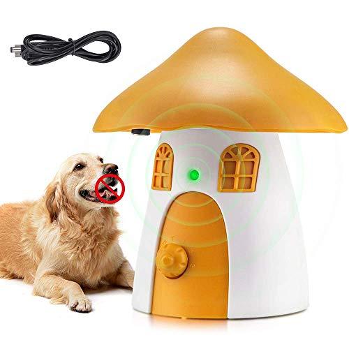 SOYAO Anti Bell Halsband, Ultraschall Akustische Anti Bell Mittel, Wasserdichter Rinden Stoppvorrichtung, Antibellhalsband, Anti Bell Hundehalsband, Sicheres für Hunde Bellen Innen- und Außenbereich
