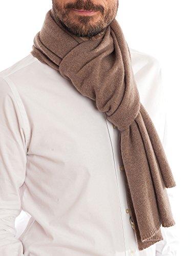 DALLE PIANE CASHMERE - Schal aus 100prozent Kaschmir - für Mann/Frau, Farbe: Nerz, Einheitsgröße