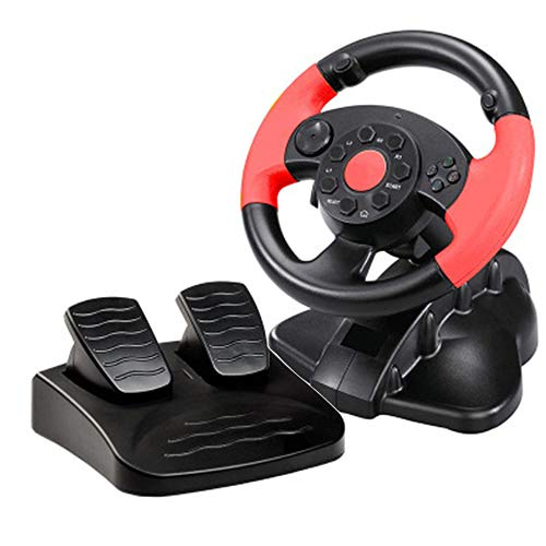 Xyfw Coche para PS3 / PS4 PC Juego De Carreras Volante Simulador...