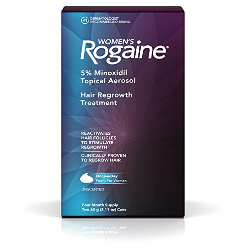 Women's Rogaine Hair Regrowth Treatment Foam