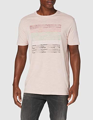 Springfield Brocha-c/70 Camiseta, Rosa (Pink 70), M (Tamaño del Fabricante: M) para Hombre